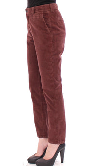 Brown CATHERINE Cotton Corduroys Jeans