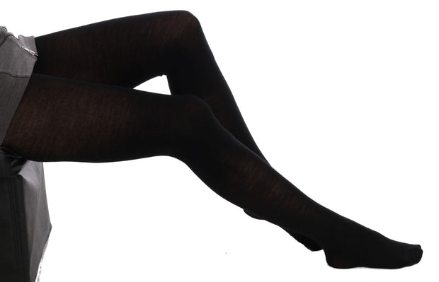 Black Stretch Tights Stockings