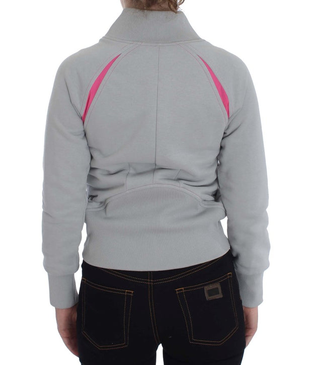 Gray Top Sport Cotton Sweater