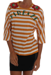 White Orange FIRENZE T-Shirt