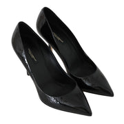 Black Patent Leather Classic Pumps