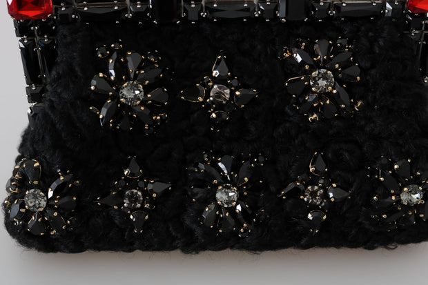Black Crystal Bag VANDA Clutch Bag