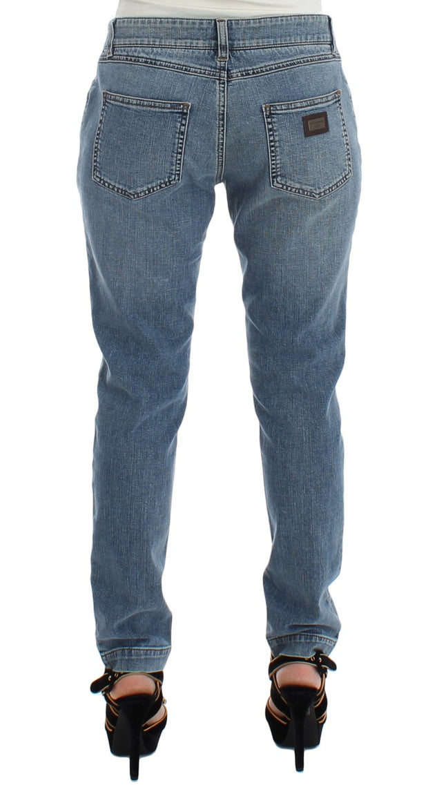Light Blue Jeans Slim Skinny Jeans
