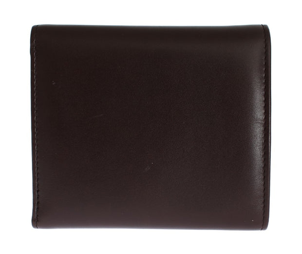 Brown Leather Trifold Wallet