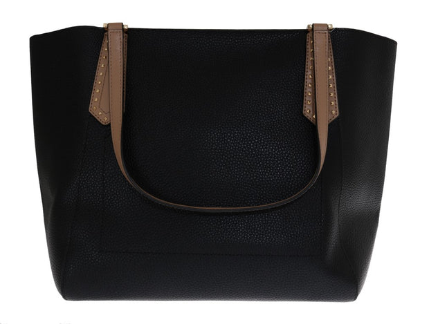 Black KIMBERLY Leather Tote Bag