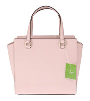 Pink SMALL HANDLEE Leather Handbag
