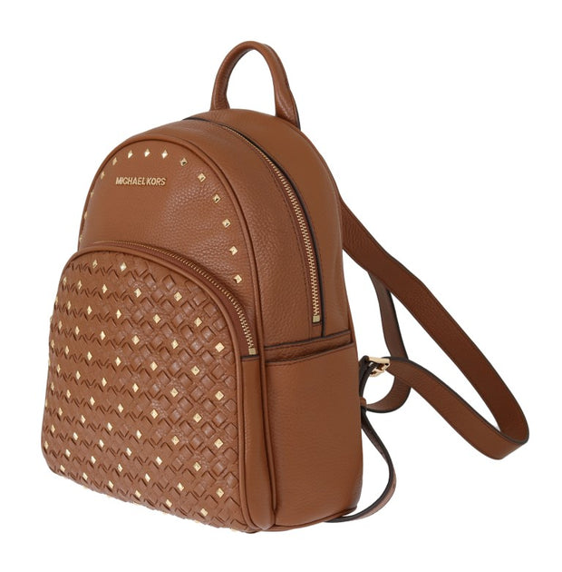 Brown ABBEY Studded Backpack