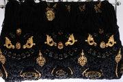 Black Tassel Gold Baroque Crystal VANDA Bag