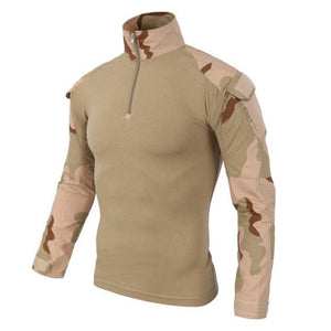 US Army Tactical Military Uniform Airsoft  Camouflage Combat-Proven Shirts Rapid Assault Long Sleeve Shirt Battle Strike