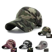 Load image into Gallery viewer, bone masculino Retro Neutral Outdoor Sports Leisure Unisex gorras de hombre Camo Camouflage hat Army Military Hat Men's cap