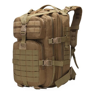 1  40L Military Tactical Assault Pack Backpack Army Molle Waterproof Bug Out Bag
