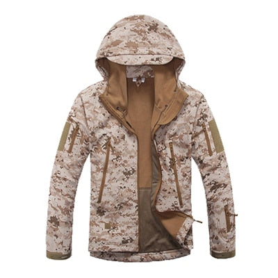 Lurker Shark Skin Softshell V5 Military Uniform Clothes Tactical Jacket Waterproof Coat Camouflage Hooded Army Camo Clothing