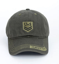 Load image into Gallery viewer, Army Military Caps US Special Force Soldiers Airsoft CS Tactical Hats Mens Sniper Camouflage Snapback Caps Gorras Adjustable