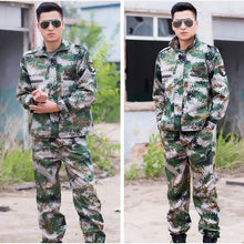 Load image into Gallery viewer, Military Uniform Army Tactical Suit Special Forces Fighting Combat Costume Camouflage Clothes Wear Resistant Men Militar Set