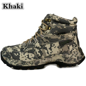CUNGE Brand Men's Boots Military boot Tactical Big Size Army Bot Male Shoes Safety Combat Mens desert Ankle Bot Motocycle Boots