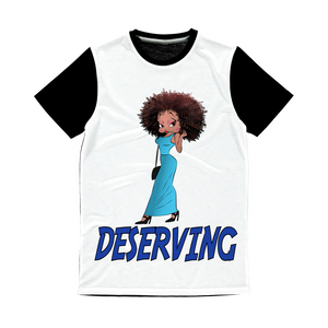 Deserving Betty Classic Sublimation Panel T-Shirt