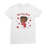 Kisses Betty Brown Premium Jersey Women's T-Shirt