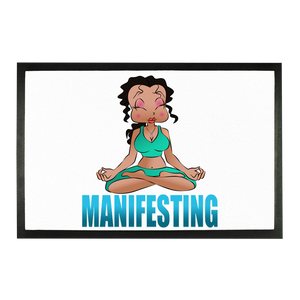 Manifesting Betty Doormat | Black Betty Boop
