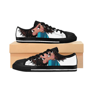 Sitting Betty Women's Sneakers | Black Betty Boop