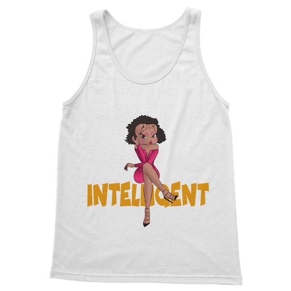 Intelligent Betty Classic Women's Tank Top | Black Betty Boop