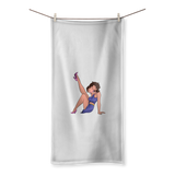 Purple Betty Towel | Black Betty Boop