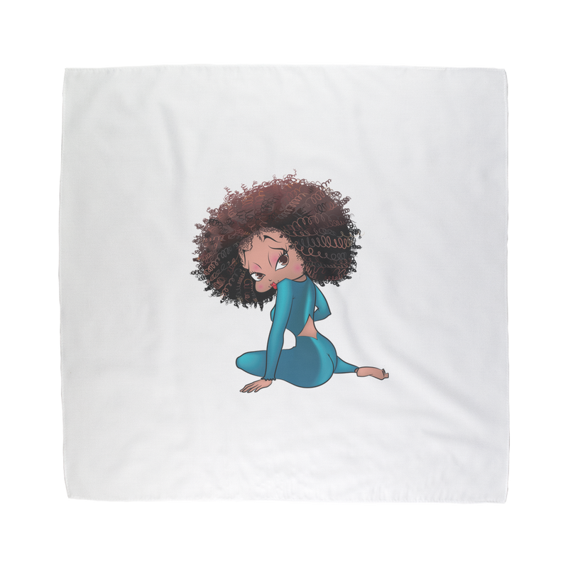Sitting Betty Light Sublimation Bandana | Black Betty Boop