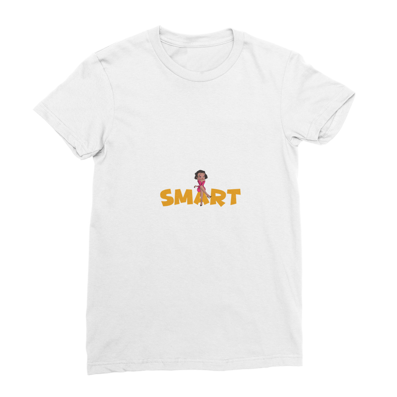 Smart Betty T-Shirt | Black Betty Boop