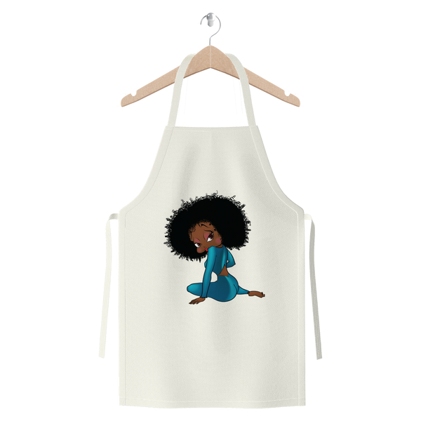 Sitting Betty Brown Jersey Apron | Black Betty Boop