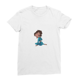 Sitting Betty Medium Premium Jersey Women's T-Shirt | Black Betty Boop