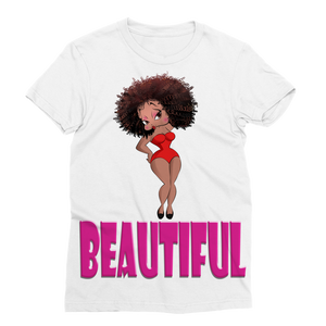 Beautiful Betty Classic Sublimation Women's T-Shirt | Black Betty Boop