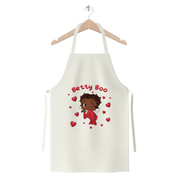 Kisses Betty Brown Premium Jersey Apron