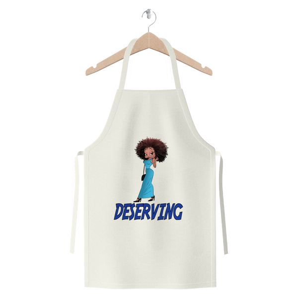 Sassy Deserving Betty Premium Jersey Apron | Black Betty Boop