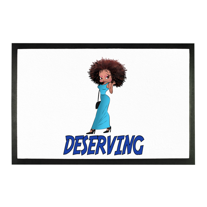 Deserving Betty Doormat | Black Betty Boop