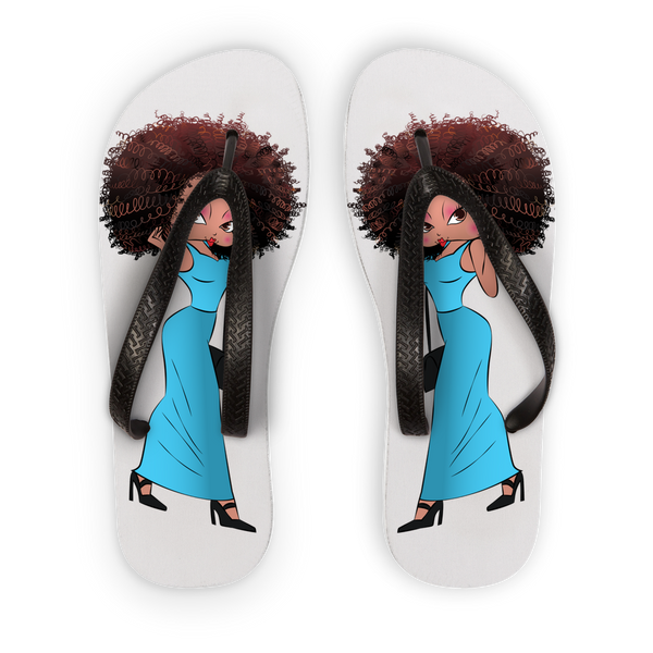 Deserving Betty Flip Flops | Black Betty Boop