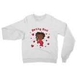 Kisses Betty Brown Classic Adult Sweatshirt