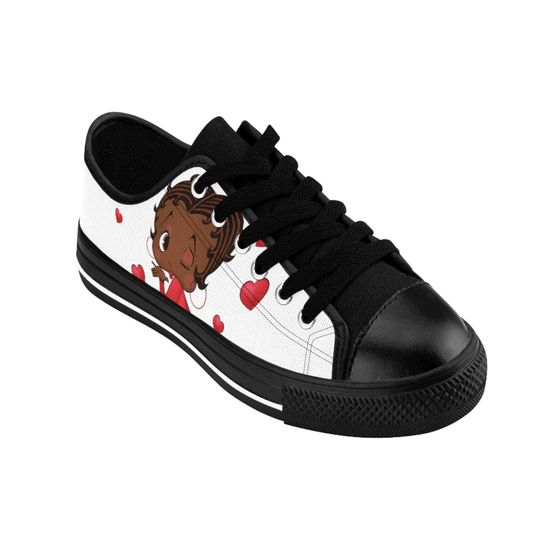 Kissing Betty Brown Women's Sneakers