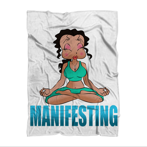 Manifesting Betty Blanket | Black Betty Boop