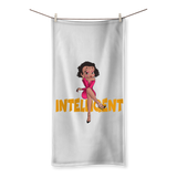 Intelligent Betty Sublimation All Over Towel | Black Betty Boop