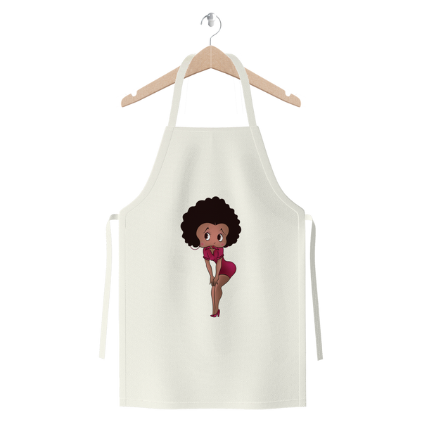 Standing Betty Medium Premium Jersey Apron | Black Betty Boop