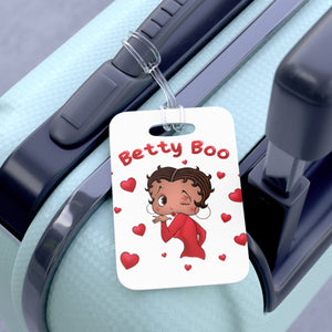 Kissing Betty Bag Tag | Black Betty Boop
