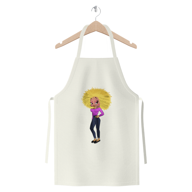 Blond Betty Premium Jersey Apron | Black Betty Boop