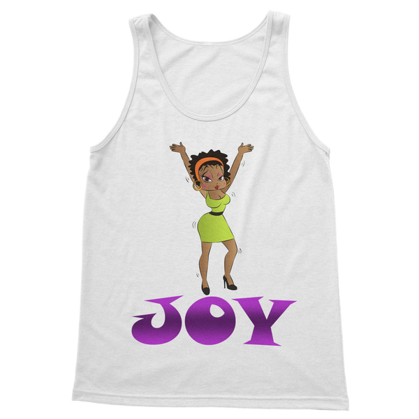 Dancing Joy Betty Classic Women's Tank Top | Black Betty Boop