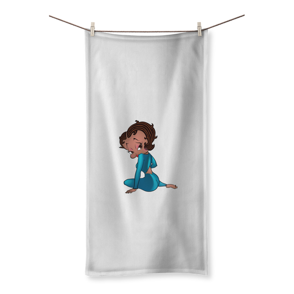 Sitting Betty Towel | Black Betty Boop
