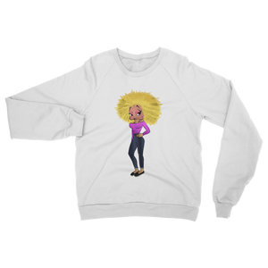 Blond Betty Classic Adult Sweatshirt | Black Betty Boop