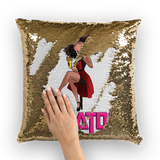 Professional Betty Sequin Cushion Cover | Black Betty Boop