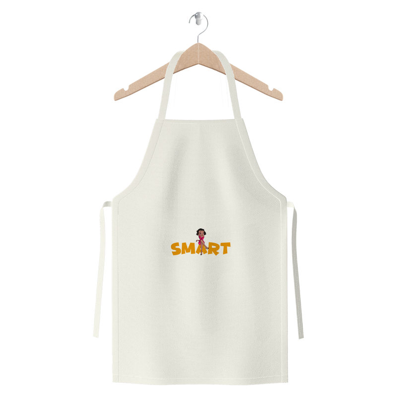 Smart Betty Jersey Apron | Black Betty Boop
