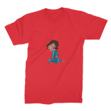 Sitting Betty Medium Premium Jersey Men's T-Shirt | Black Betty Boop
