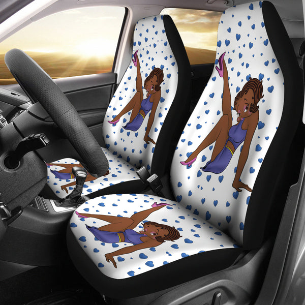 LegUp Betty Car Seat Cover Express | Black Betty Boop