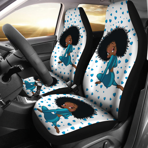 Sitting Betty Car Seat Cover Express | Black Betty Boop
