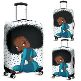 Luggage Covers - Luggage Sitting Betty | Black Betty Boop